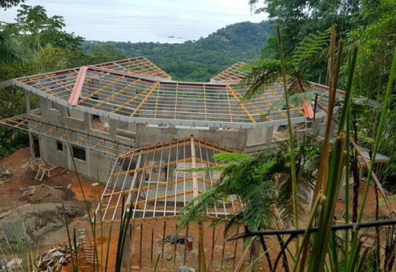 Metal structures for constructions
