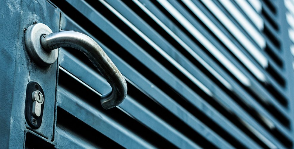 Puertas de seguridad en hierro forjado