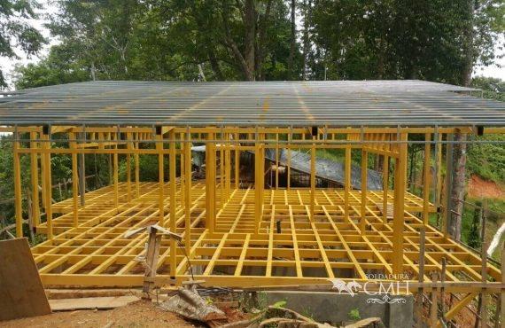 Construcción de estructuras metálicas para techos en Costa Rica - Metal roof structures