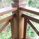 Barandas tipo madera